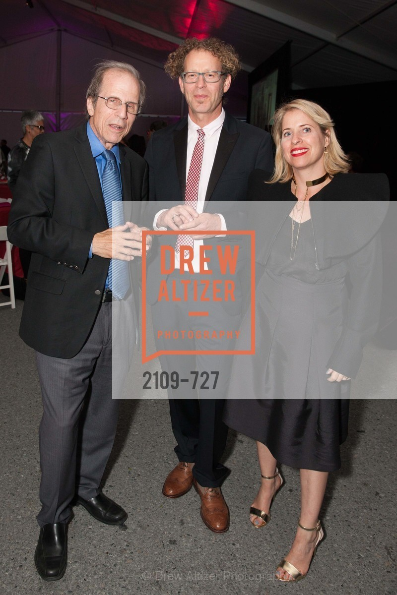 Michael Krasny, Ken Goldberg, Tiffany Shlain, SAN FRANCISCO ART INSTITUTE Gala Honoring Art Visionary and Advocate ROSELYNE CHROMAN SWIG, US, May 14th, 2015,Drew Altizer, Drew Altizer Photography, full-service agency, private events, San Francisco photographer, photographer california