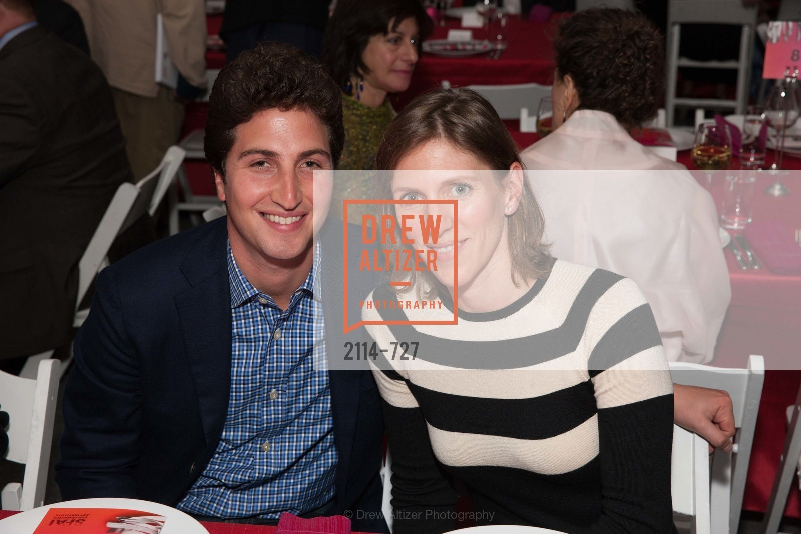 Matthew Goldman, Laura Haywood, SAN FRANCISCO ART INSTITUTE Gala Honoring Art Visionary and Advocate ROSELYNE CHROMAN SWIG, US, May 13th, 2015,Drew Altizer, Drew Altizer Photography, full-service agency, private events, San Francisco photographer, photographer california