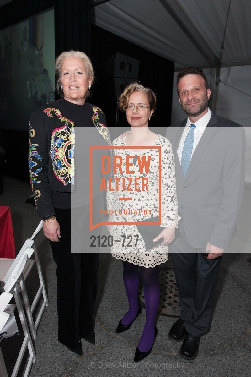 Angela Webber, Rachel Schreiber, David Gibson, SAN FRANCISCO ART INSTITUTE Gala Honoring Art Visionary and Advocate ROSELYNE CHROMAN SWIG, US, May 14th, 2015,Drew Altizer, Drew Altizer Photography, full-service agency, private events, San Francisco photographer, photographer california