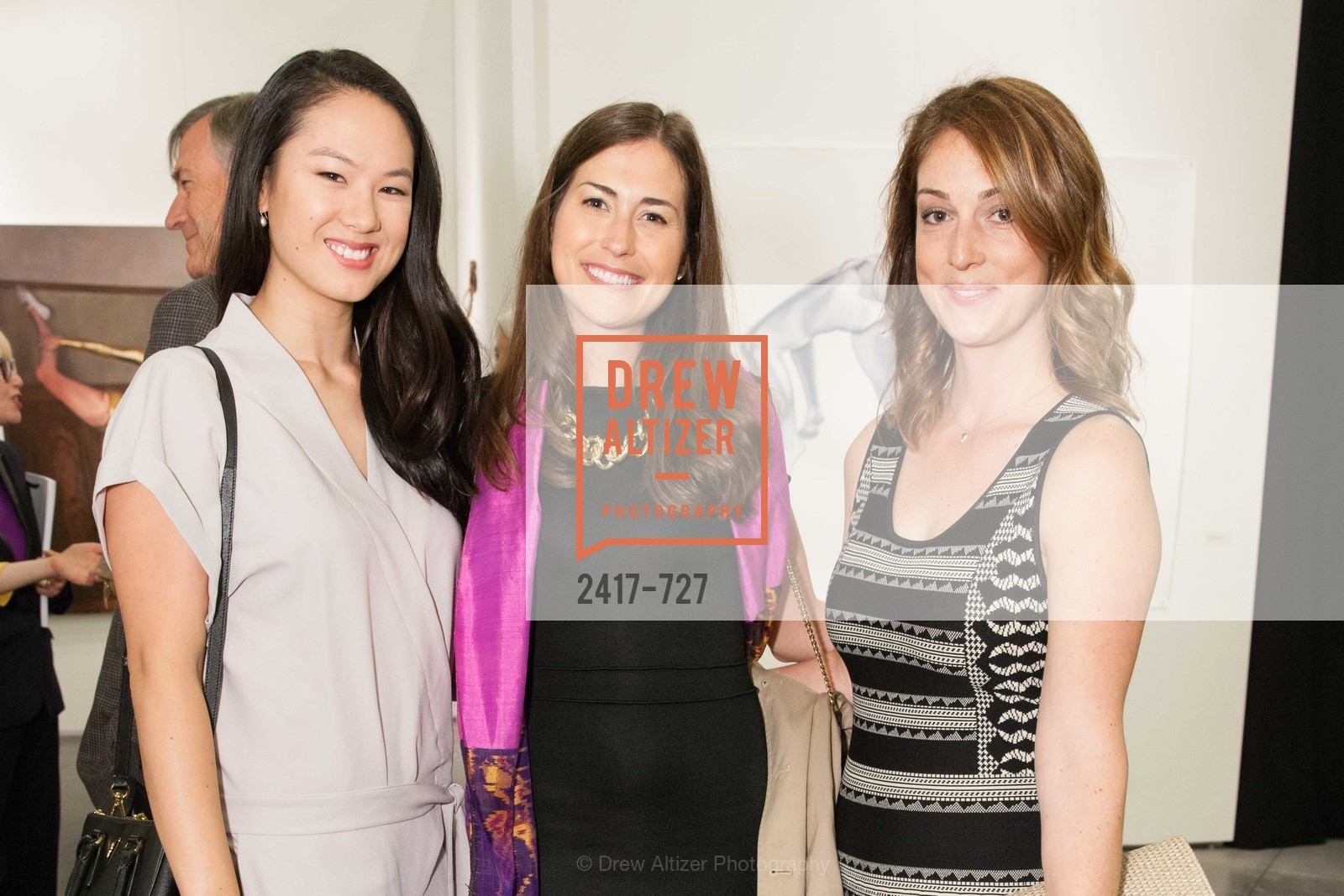 Tali Jang, Katy Dickensheets, Claire Herr, SAN FRANCISCO ART INSTITUTE Gala Honoring Art Visionary and Advocate ROSELYNE CHROMAN SWIG, US, May 14th, 2015,Drew Altizer, Drew Altizer Photography, full-service agency, private events, San Francisco photographer, photographer california
