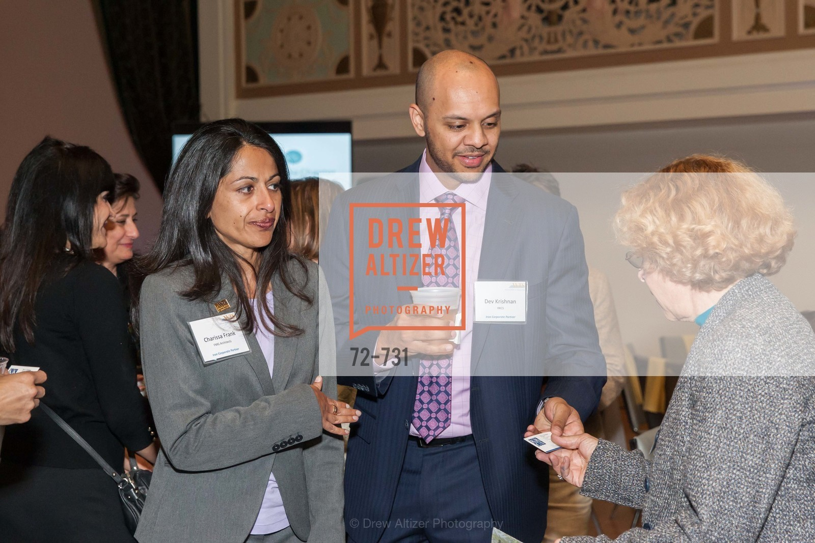 Charissa Frank, Dev Krishnan, WOMEN'S TRANSPORTATION SEMINAR SF Bay Area Chapter Annual Scholarship Awards, US, May 15th, 2015,Drew Altizer, Drew Altizer Photography, full-service agency, private events, San Francisco photographer, photographer california