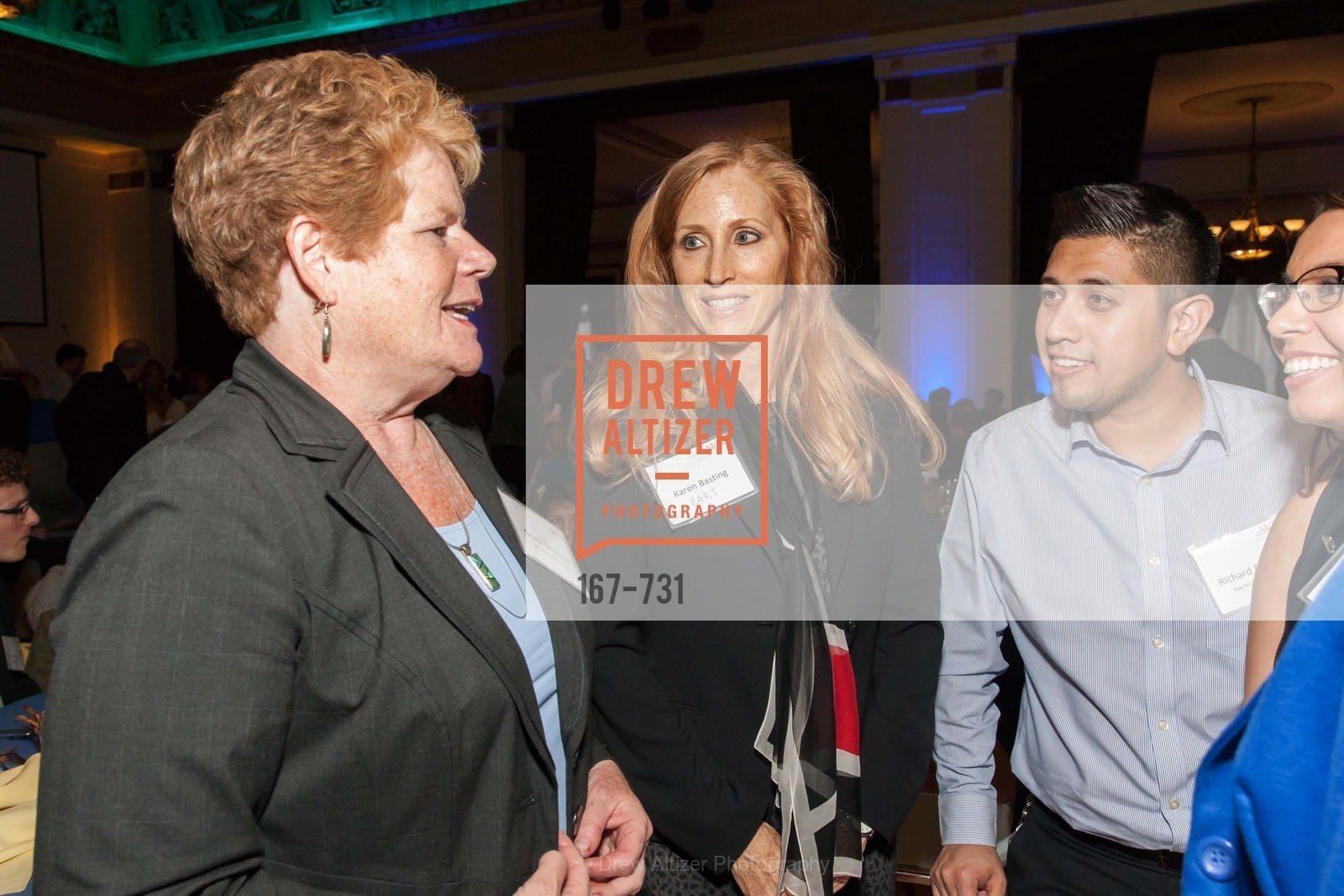Grace Crunican, Karen Basting, Richard Fuentes, WOMEN'S TRANSPORTATION SEMINAR SF Bay Area Chapter Annual Scholarship Awards, US, May 15th, 2015,Drew Altizer, Drew Altizer Photography, full-service agency, private events, San Francisco photographer, photographer california