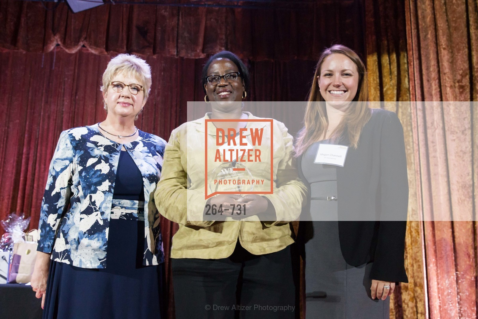 Darlene Gee, Camille Williams, Megan Channell, WOMEN'S TRANSPORTATION SEMINAR SF Bay Area Chapter Annual Scholarship Awards, US, May 15th, 2015,Drew Altizer, Drew Altizer Photography, full-service agency, private events, San Francisco photographer, photographer california