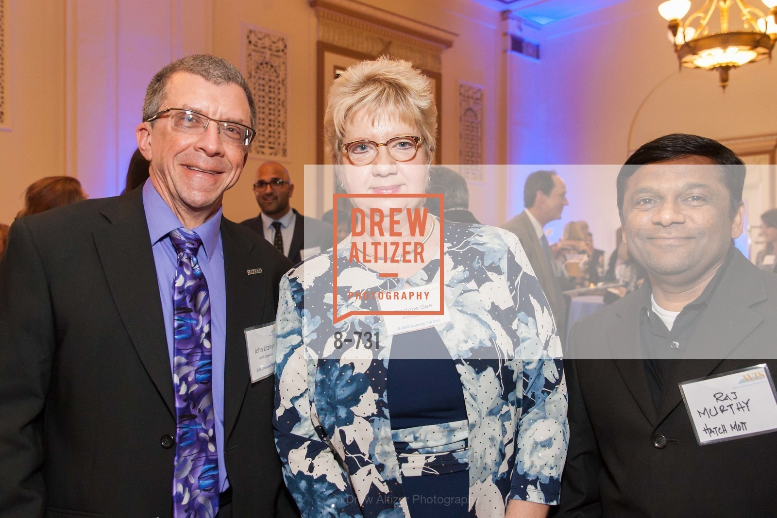John Litzinger, Darlene Gee, Raj Murthy, WOMEN'S TRANSPORTATION SEMINAR SF Bay Area Chapter Annual Scholarship Awards, US, May 14th, 2015,Drew Altizer, Drew Altizer Photography, full-service agency, private events, San Francisco photographer, photographer california