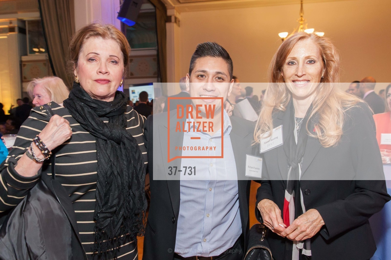Richard Fuentes, Karen Basting, WOMEN'S TRANSPORTATION SEMINAR SF Bay Area Chapter Annual Scholarship Awards, US, May 15th, 2015,Drew Altizer, Drew Altizer Photography, full-service agency, private events, San Francisco photographer, photographer california