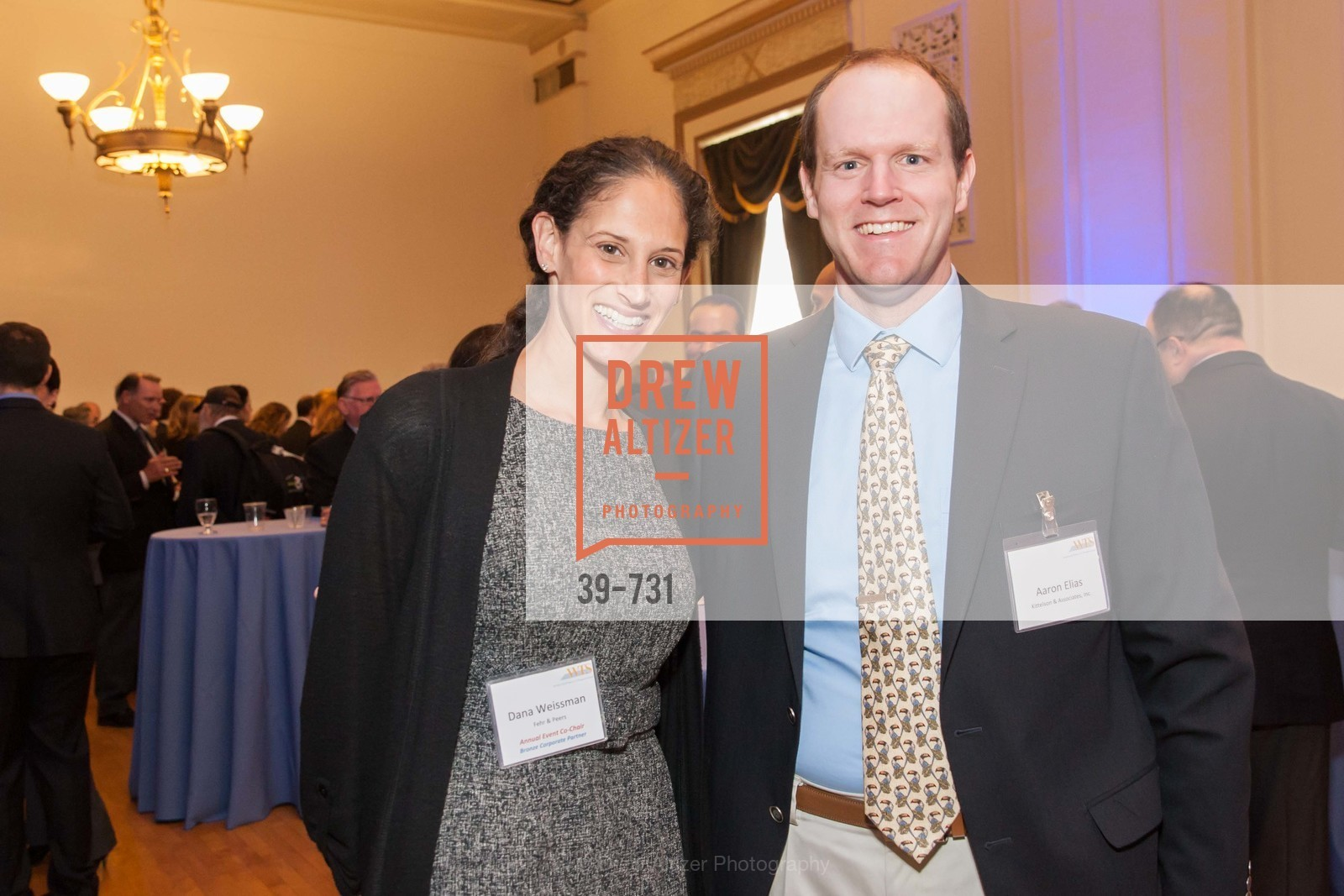 Tina Weissman, Aaron Elias, WOMEN'S TRANSPORTATION SEMINAR SF Bay Area Chapter Annual Scholarship Awards, US, May 15th, 2015,Drew Altizer, Drew Altizer Photography, full-service agency, private events, San Francisco photographer, photographer california