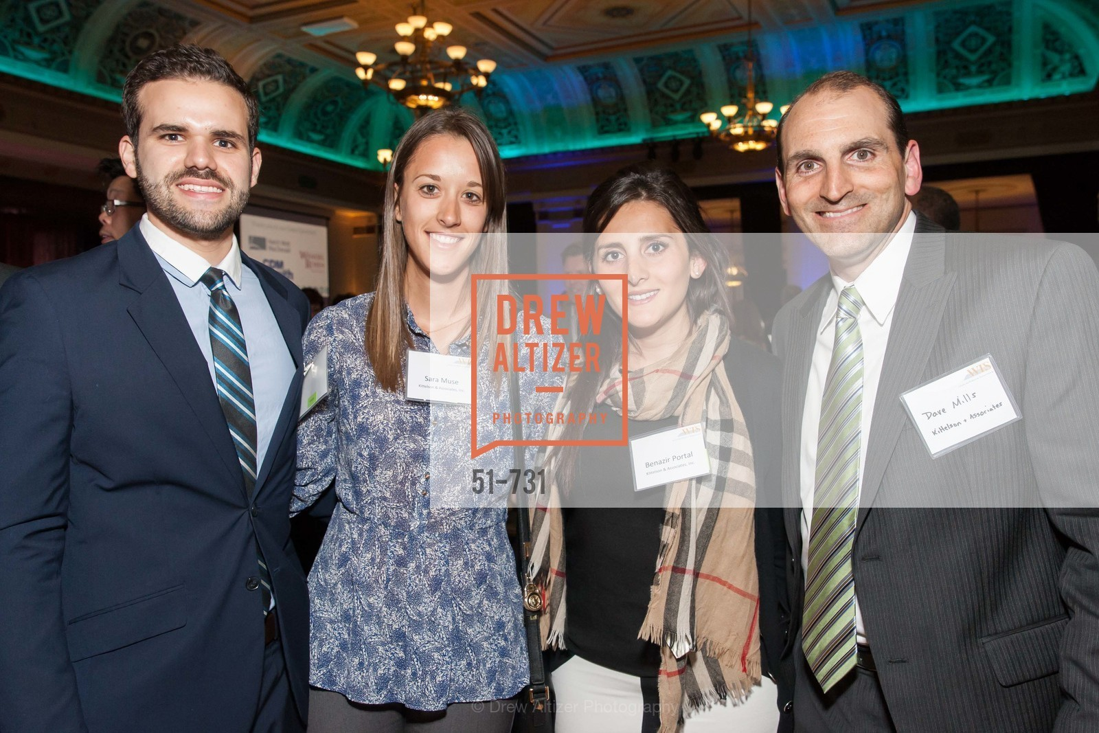 Jorge Barrios, Sara Muse, Benazir Portal, Dave Mills, WOMEN'S TRANSPORTATION SEMINAR SF Bay Area Chapter Annual Scholarship Awards, US, May 15th, 2015,Drew Altizer, Drew Altizer Photography, full-service agency, private events, San Francisco photographer, photographer california