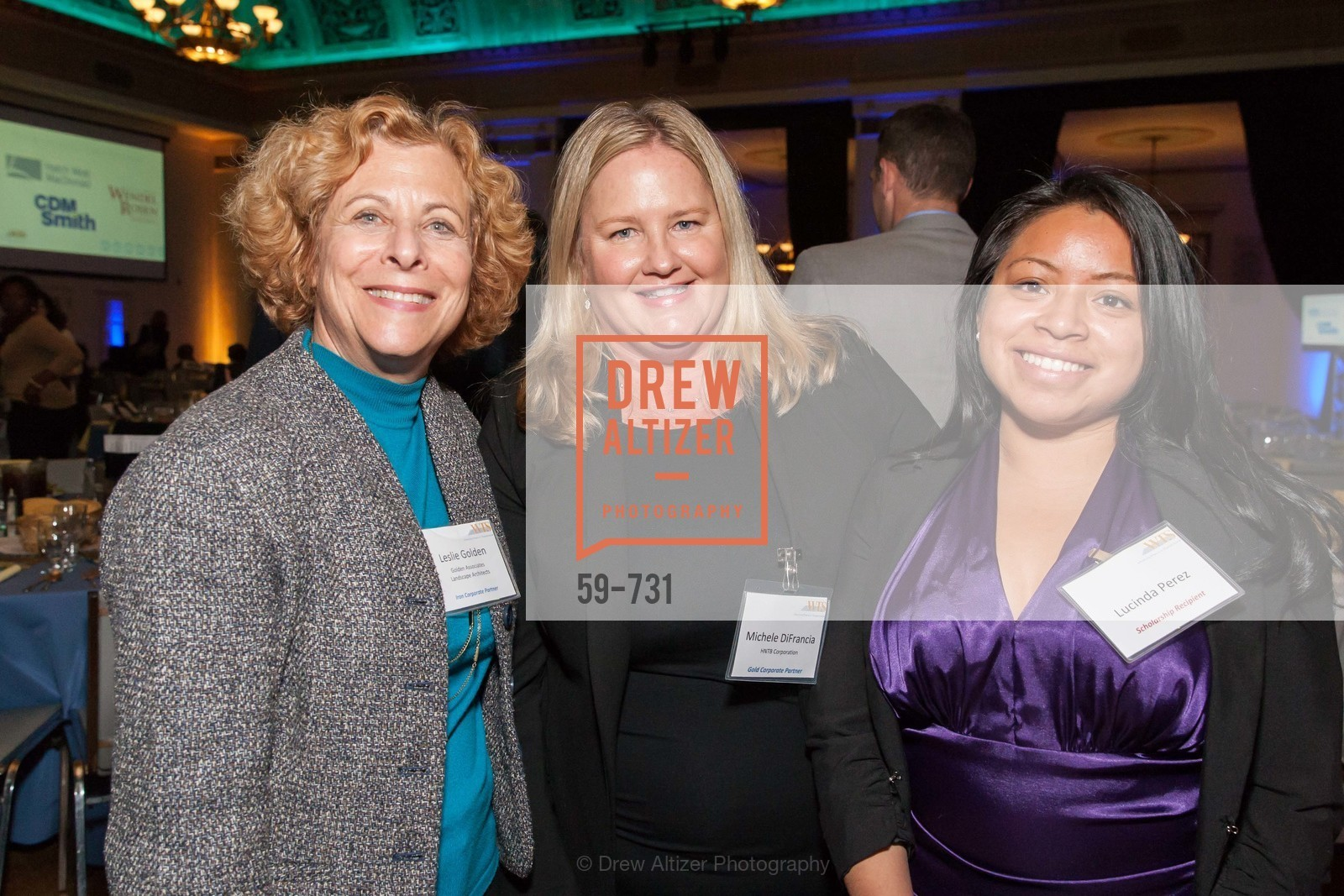 Leslie Golden, Michele DiFrancia, Lucinda Perez, WOMEN'S TRANSPORTATION SEMINAR SF Bay Area Chapter Annual Scholarship Awards, US, May 15th, 2015,Drew Altizer, Drew Altizer Photography, full-service agency, private events, San Francisco photographer, photographer california