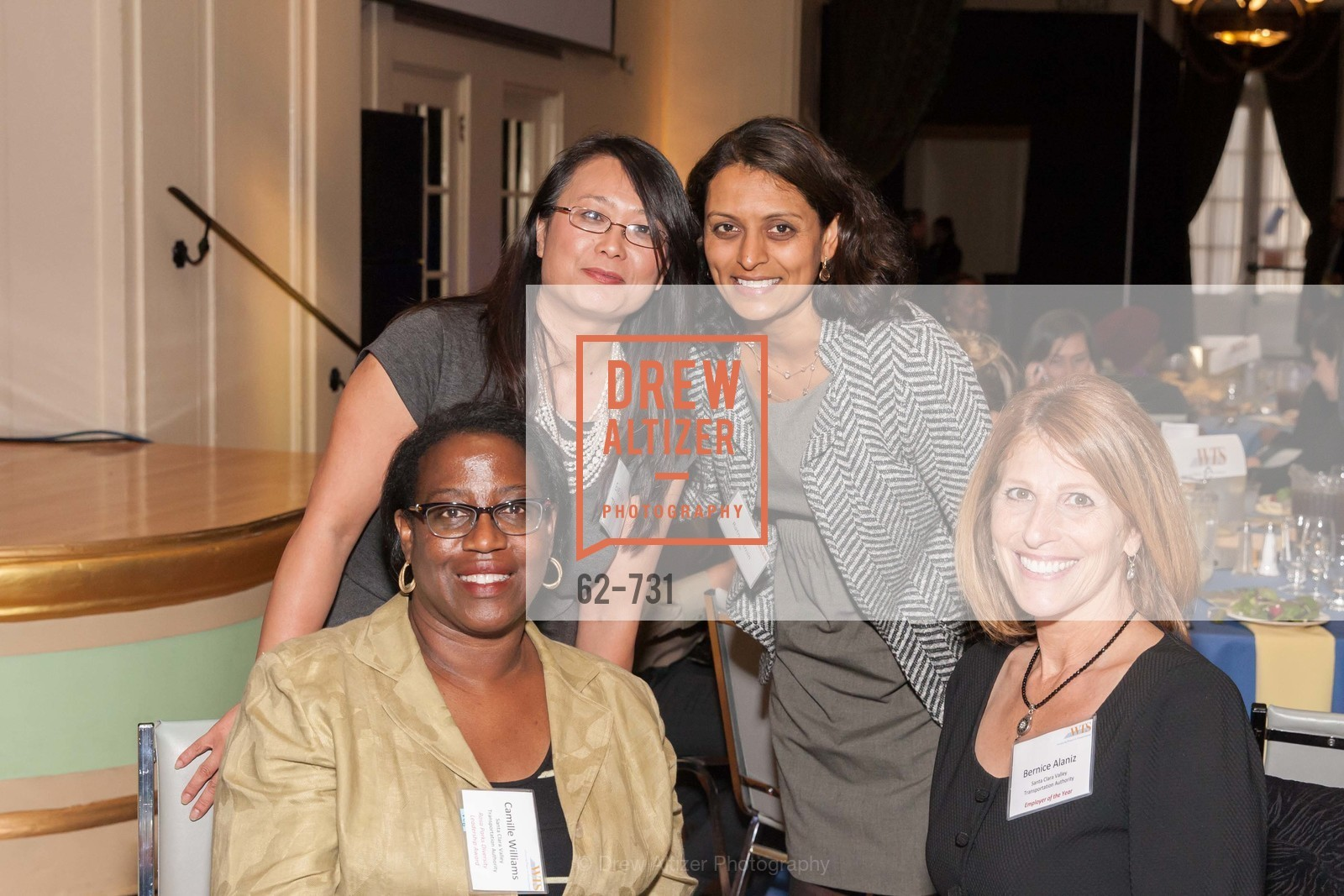 Camille Williams, Evelyn Tran, Ratna Amin, Bernice Alaniz, WOMEN'S TRANSPORTATION SEMINAR SF Bay Area Chapter Annual Scholarship Awards, US, May 14th, 2015,Drew Altizer, Drew Altizer Photography, full-service agency, private events, San Francisco photographer, photographer california