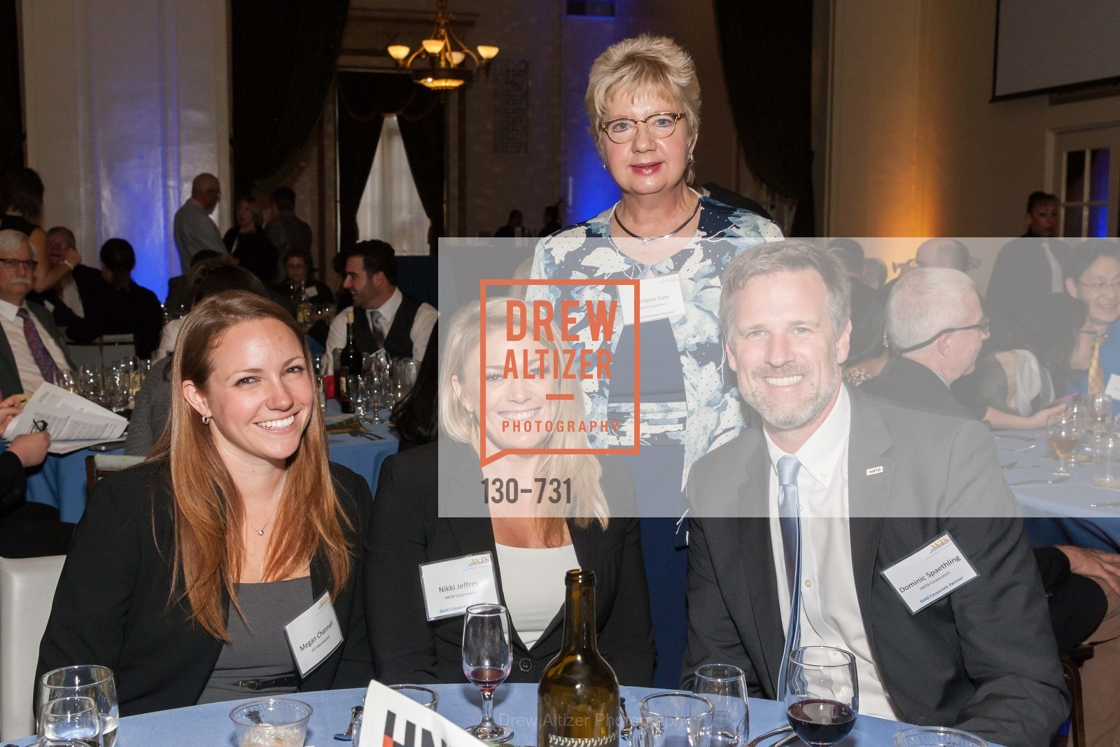 Megan Channell, Nikki Jeffrey, Darlene Gee, Dominic Spaethling, WOMEN'S TRANSPORTATION SEMINAR SF Bay Area Chapter Annual Scholarship Awards, US, May 15th, 2015,Drew Altizer, Drew Altizer Photography, full-service agency, private events, San Francisco photographer, photographer california