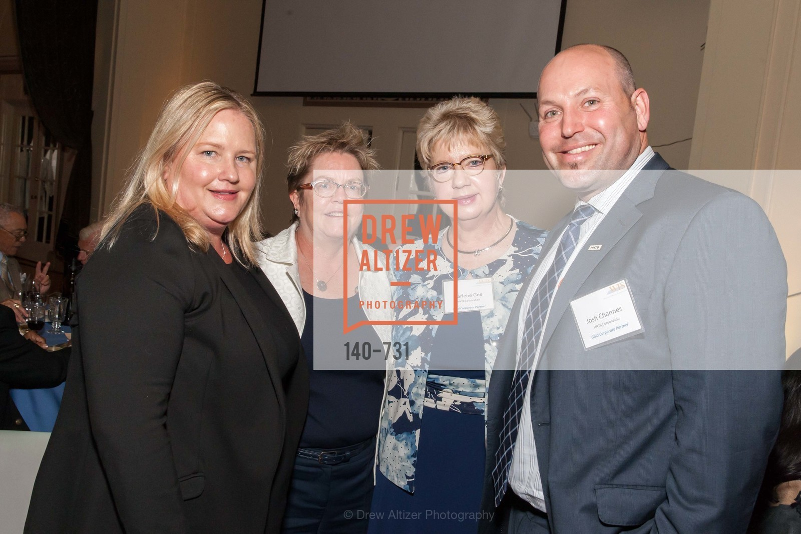 Michele DiFrancia, Iris Starr, Darlene Gee, Josh Chanell, WOMEN'S TRANSPORTATION SEMINAR SF Bay Area Chapter Annual Scholarship Awards, US, May 14th, 2015,Drew Altizer, Drew Altizer Photography, full-service agency, private events, San Francisco photographer, photographer california