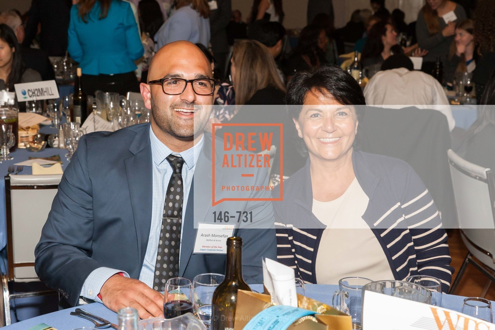 Arash Monsefan, Olga Mendez, WOMEN'S TRANSPORTATION SEMINAR SF Bay Area Chapter Annual Scholarship Awards, US, May 14th, 2015,Drew Altizer, Drew Altizer Photography, full-service agency, private events, San Francisco photographer, photographer california