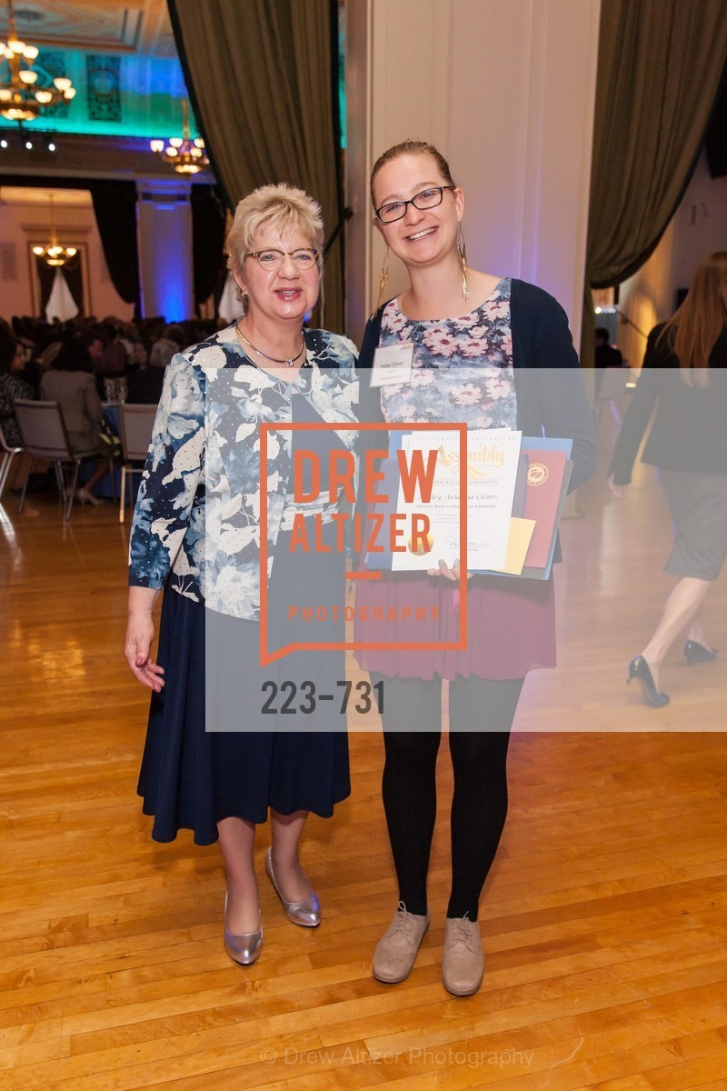 Darlene Gee, Hailey Clont, WOMEN'S TRANSPORTATION SEMINAR SF Bay Area Chapter Annual Scholarship Awards, US, May 15th, 2015,Drew Altizer, Drew Altizer Photography, full-service agency, private events, San Francisco photographer, photographer california