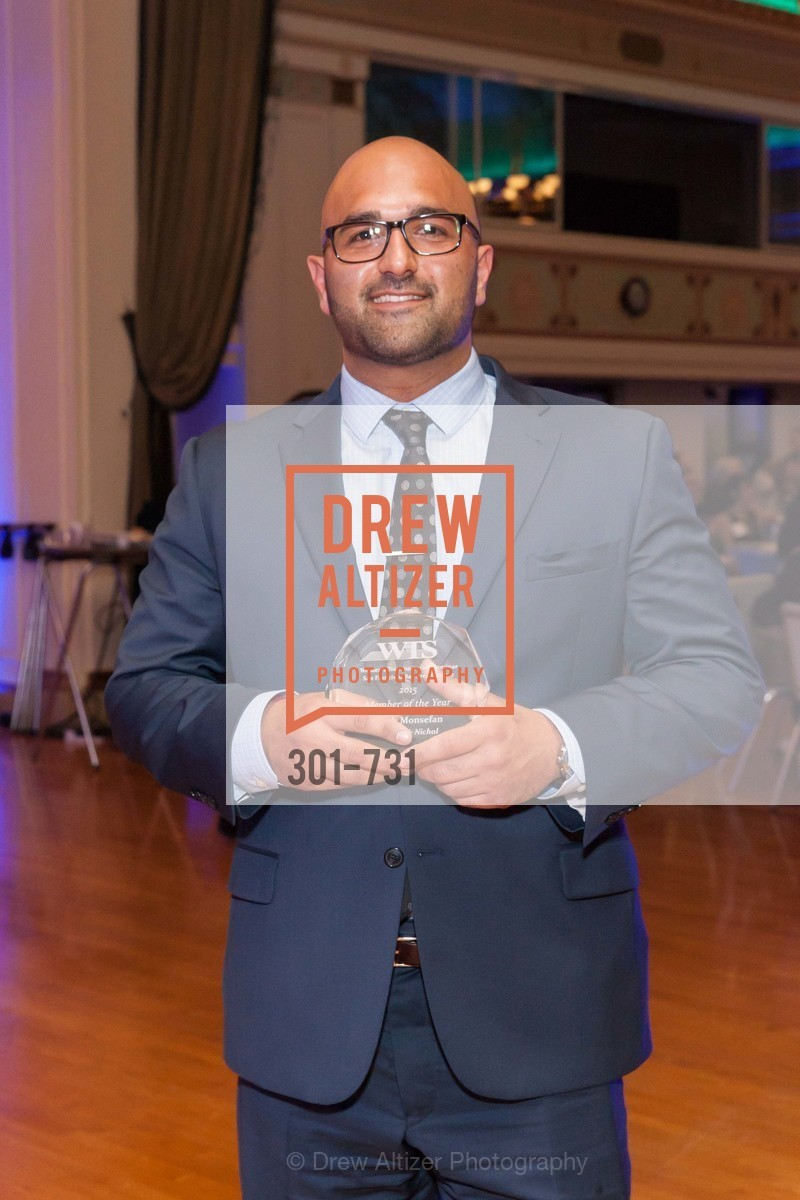 Arash Monsefan, WOMEN'S TRANSPORTATION SEMINAR SF Bay Area Chapter Annual Scholarship Awards, US, May 15th, 2015,Drew Altizer, Drew Altizer Photography, full-service event agency, private events, San Francisco photographer, photographer California