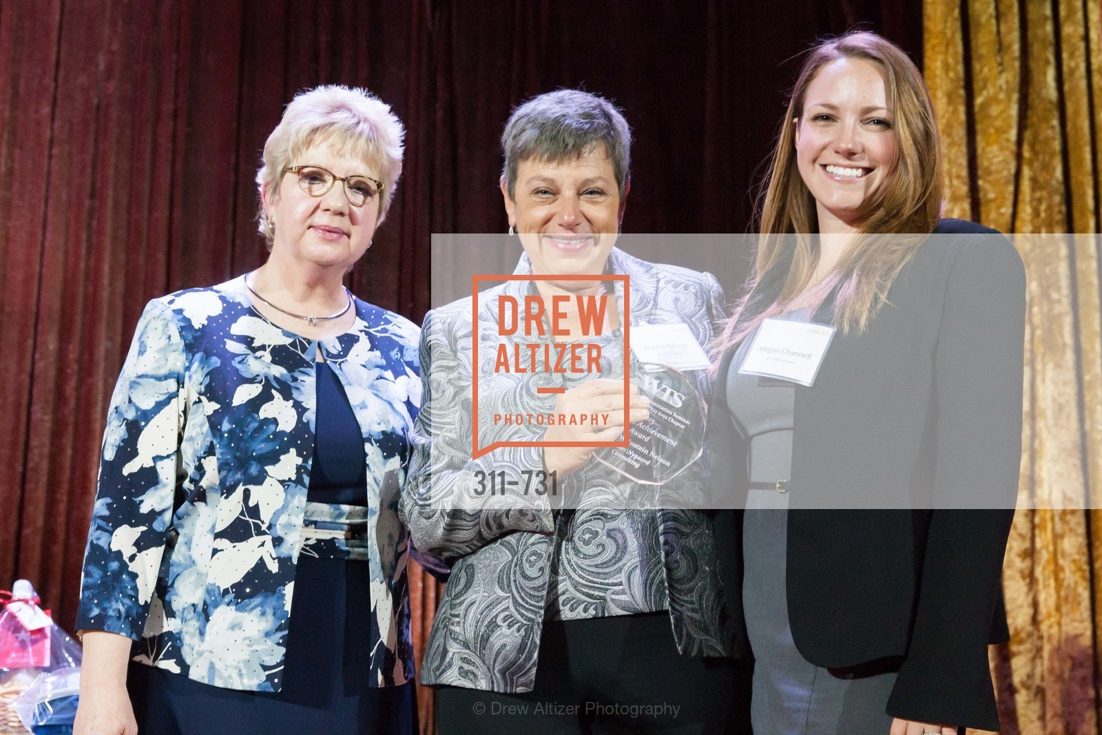 Darlene Gee, Bonnie Nelson, Megan Channell, WOMEN'S TRANSPORTATION SEMINAR SF Bay Area Chapter Annual Scholarship Awards, US, May 15th, 2015,Drew Altizer, Drew Altizer Photography, full-service event agency, private events, San Francisco photographer, photographer California