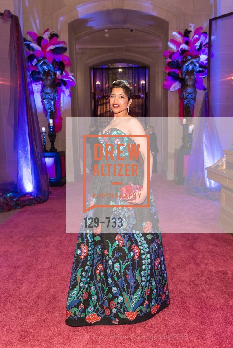Deepa Pakianathan, San Francisco Ballet 2016 Opening Night Gala, San Francisco City Hall. 1 Dr Carlton B Goodlett Pl, January 21st, 2016