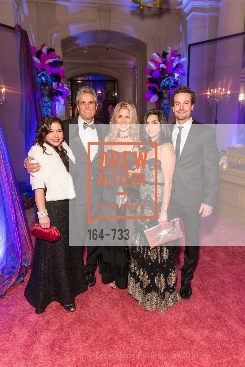 Samara Diapoulos, Lloyd Kline, Kathy Sable, Jessica O'Berry, Ian Reynolds, San Francisco Ballet 2016 Opening Night Gala, San Francisco City Hall. 1 Dr Carlton B Goodlett Pl, January 21st, 2016,Drew Altizer, Drew Altizer Photography, full-service agency, private events, San Francisco photographer, photographer california