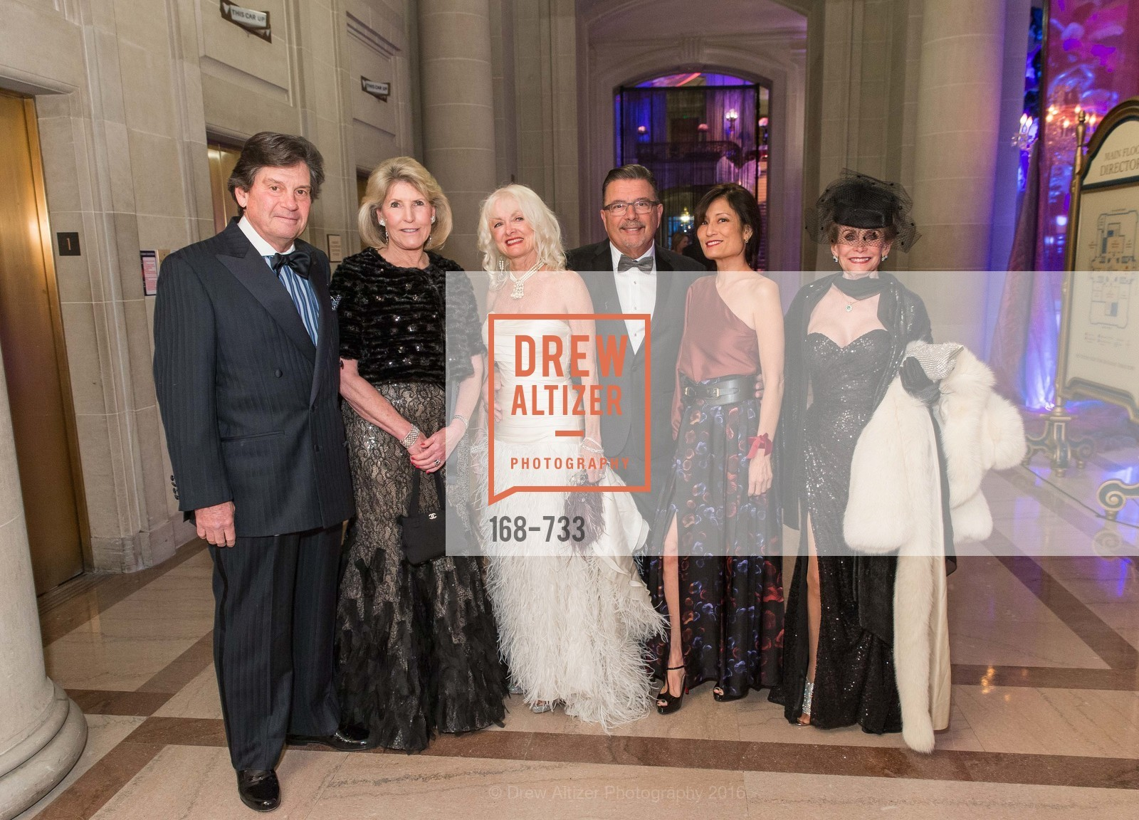 Andi Valo Espina, Frank Espina, Laurie Tsuruda, San Francisco Ballet 2016 Opening Night Gala, San Francisco City Hall. 1 Dr Carlton B Goodlett Pl, January 21st, 2016,Drew Altizer, Drew Altizer Photography, full-service agency, private events, San Francisco photographer, photographer california