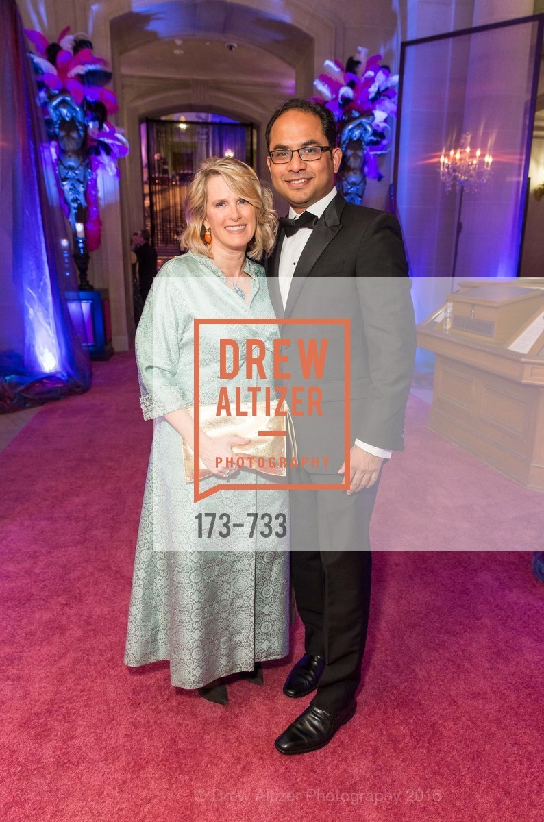 Marie Hurabiell, Mainul Mondal, San Francisco Ballet 2016 Opening Night Gala, San Francisco City Hall. 1 Dr Carlton B Goodlett Pl, January 21st, 2016,Drew Altizer, Drew Altizer Photography, full-service event agency, private events, San Francisco photographer, photographer California