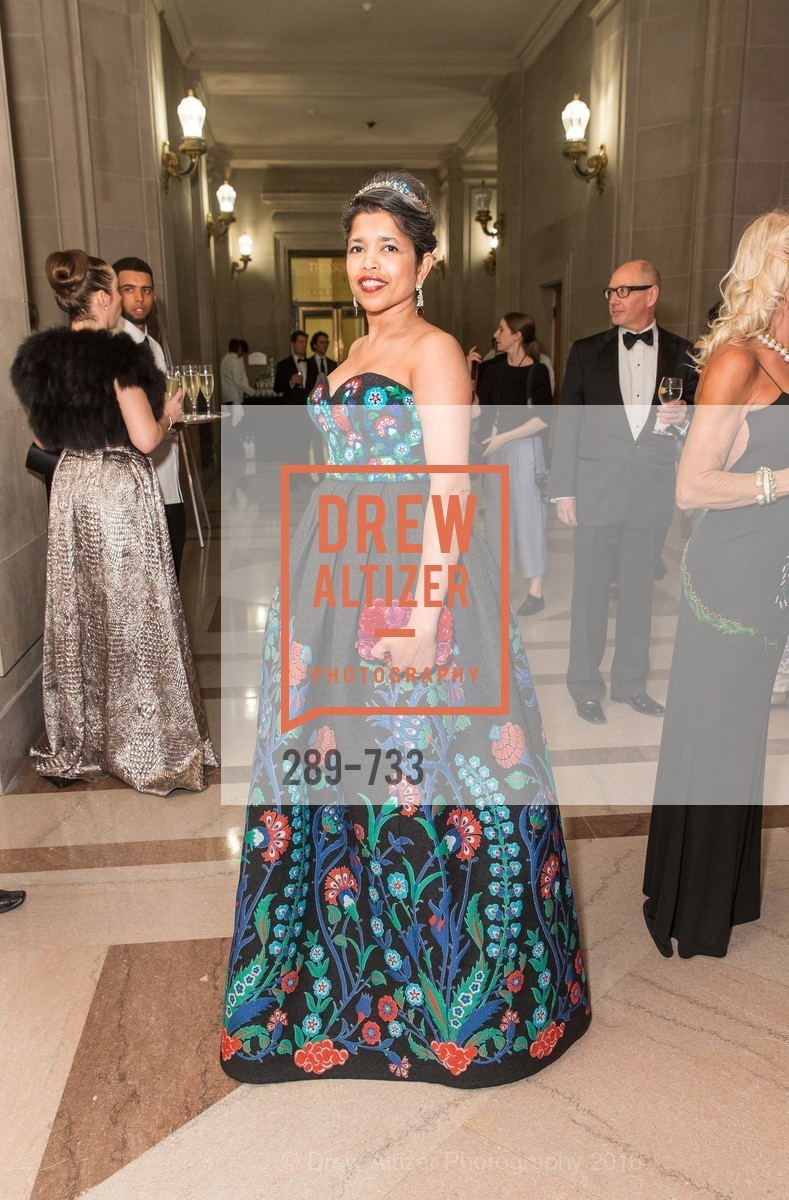 Deepa Pakianathan, San Francisco Ballet 2016 Opening Night Gala, San Francisco City Hall. 1 Dr Carlton B Goodlett Pl, January 21st, 2016,Drew Altizer, Drew Altizer Photography, full-service agency, private events, San Francisco photographer, photographer california