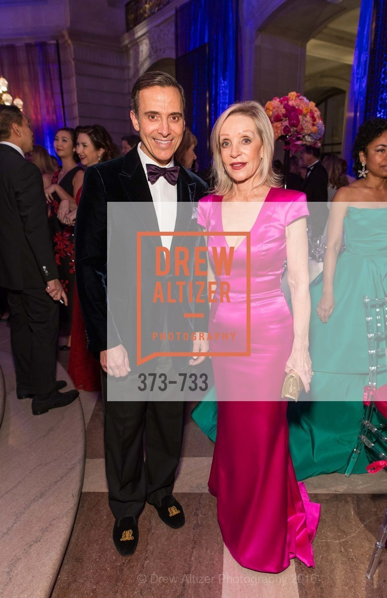 Alan Malouf, Barbara Brown, San Francisco Ballet 2016 Opening Night Gala, San Francisco City Hall. 1 Dr Carlton B Goodlett Pl, January 21st, 2016,Drew Altizer, Drew Altizer Photography, full-service agency, private events, San Francisco photographer, photographer california