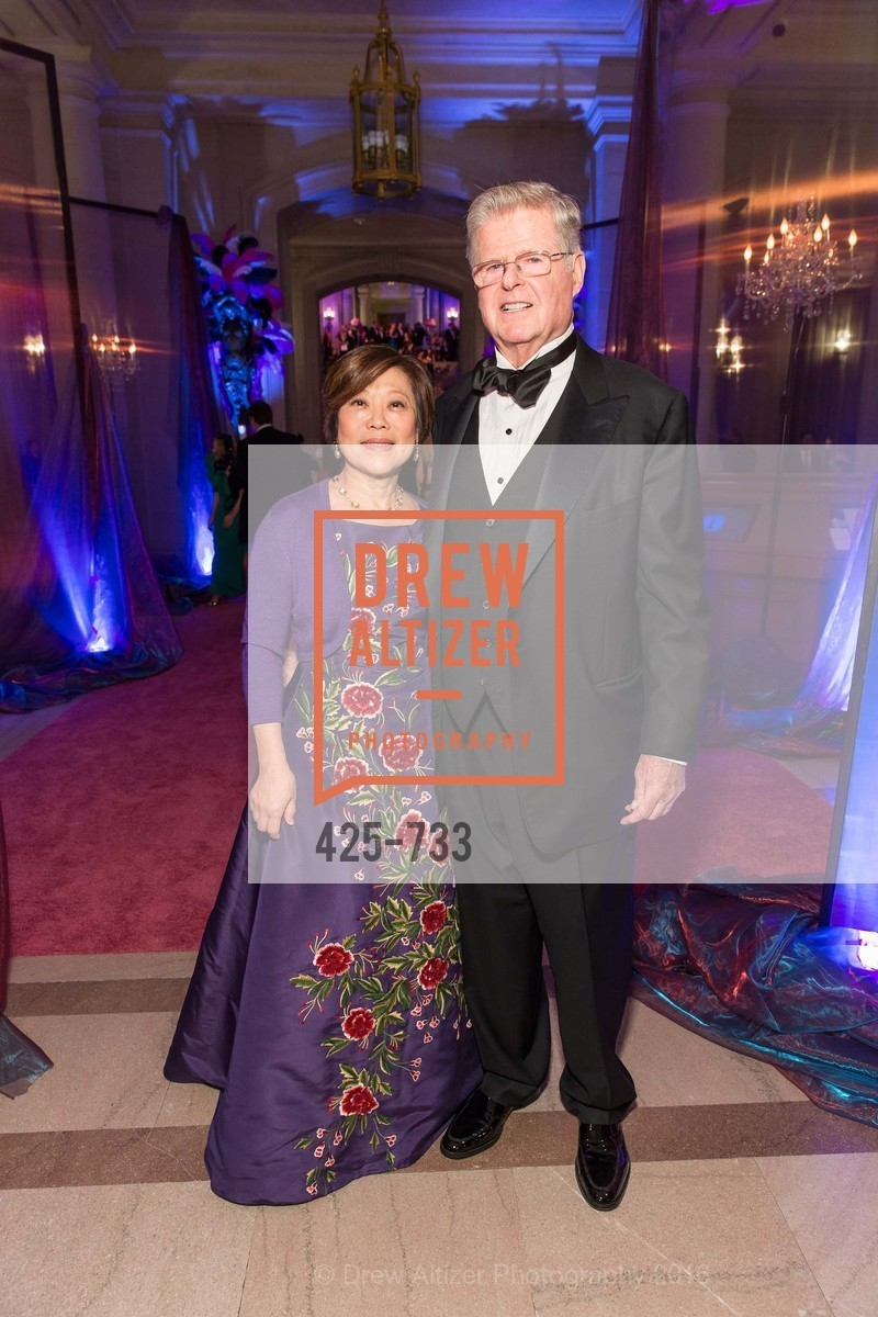 Nancy Chang, Richard Barker, San Francisco Ballet 2016 Opening Night Gala, San Francisco City Hall. 1 Dr Carlton B Goodlett Pl, January 21st, 2016,Drew Altizer, Drew Altizer Photography, full-service agency, private events, San Francisco photographer, photographer california