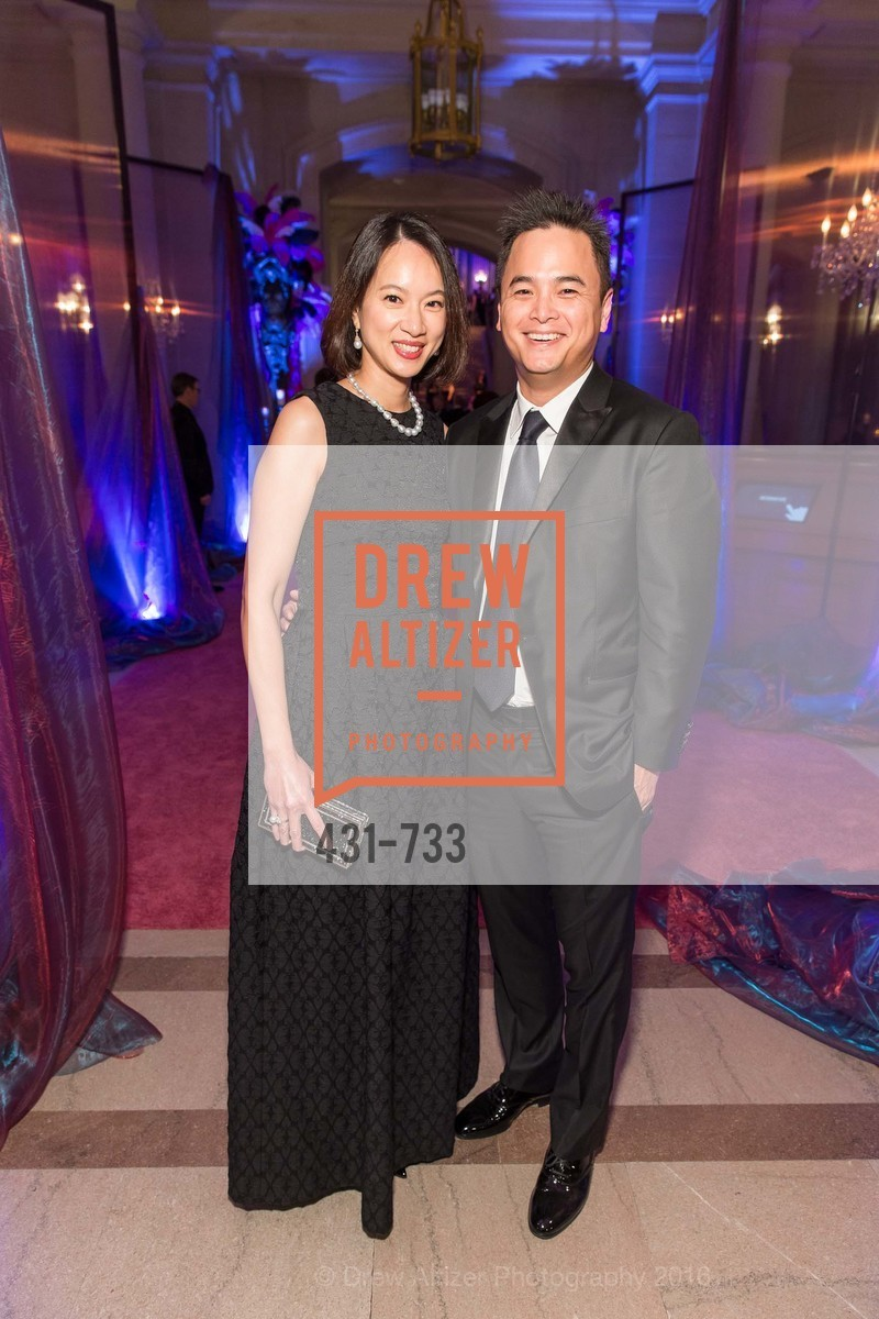 Jacqueline Chang, Jerry Chang, San Francisco Ballet 2016 Opening Night Gala, San Francisco City Hall. 1 Dr Carlton B Goodlett Pl, January 21st, 2016,Drew Altizer, Drew Altizer Photography, full-service agency, private events, San Francisco photographer, photographer california