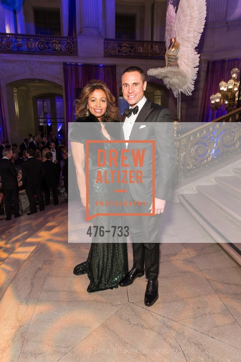 Sheree Chamber, Jeff Garelick, San Francisco Ballet 2016 Opening Night Gala, San Francisco City Hall. 1 Dr Carlton B Goodlett Pl, January 21st, 2016,Drew Altizer, Drew Altizer Photography, full-service agency, private events, San Francisco photographer, photographer california