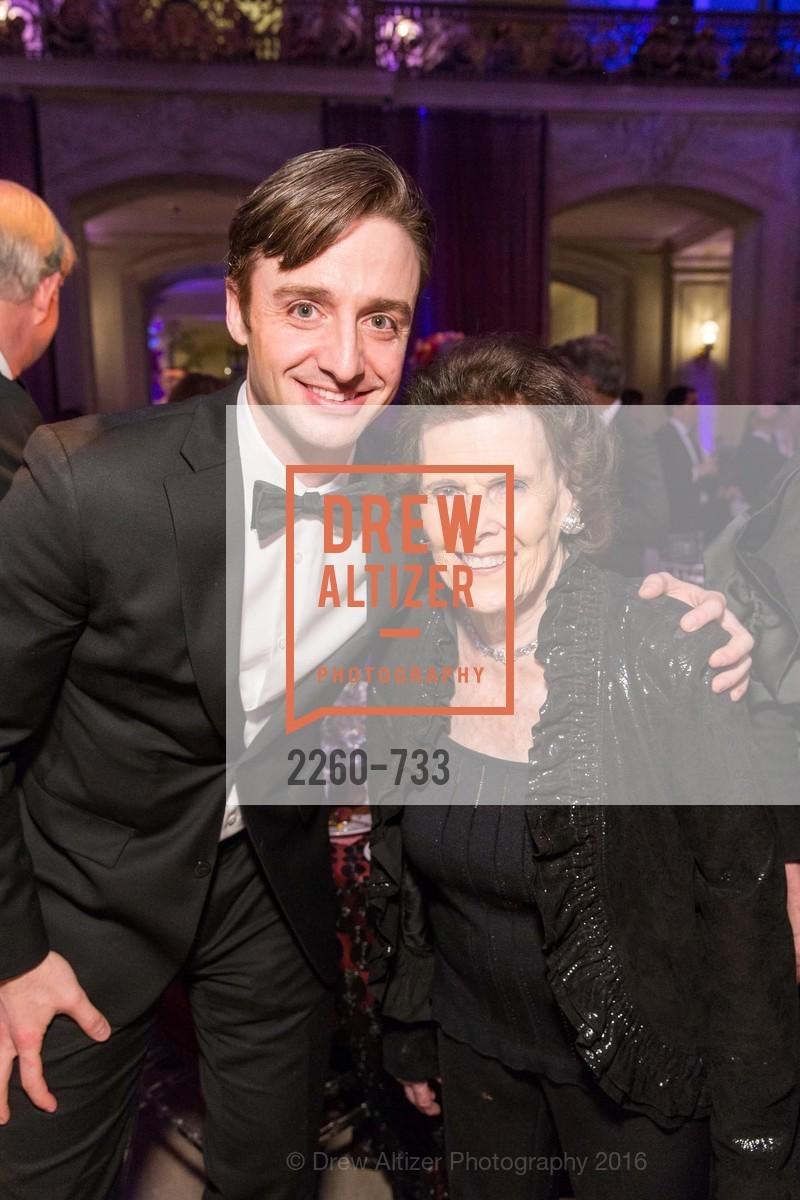 Ruben Martin, Lucy Jewett, San Francisco Ballet 2016 Opening Night Gala, San Francisco City Hall. 1 Dr Carlton B Goodlett Pl, January 21st, 2016