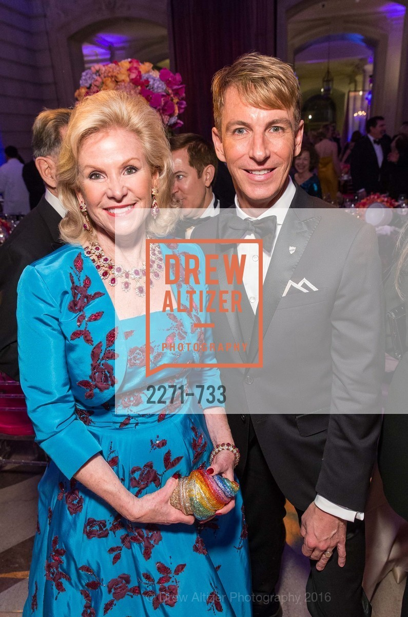 Dede Wilsey, Jack Calhoun, San Francisco Ballet 2016 Opening Night Gala, San Francisco City Hall. 1 Dr Carlton B Goodlett Pl, January 21st, 2016,Drew Altizer, Drew Altizer Photography, full-service agency, private events, San Francisco photographer, photographer california