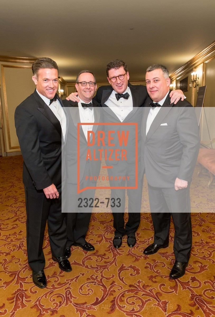 Jon Sebastiani, Lowell Singer, Michael Mauze, Michel Oltramare, San Francisco Ballet 2016 Opening Night Gala, San Francisco City Hall. 1 Dr Carlton B Goodlett Pl, January 21st, 2016,Drew Altizer, Drew Altizer Photography, full-service agency, private events, San Francisco photographer, photographer california