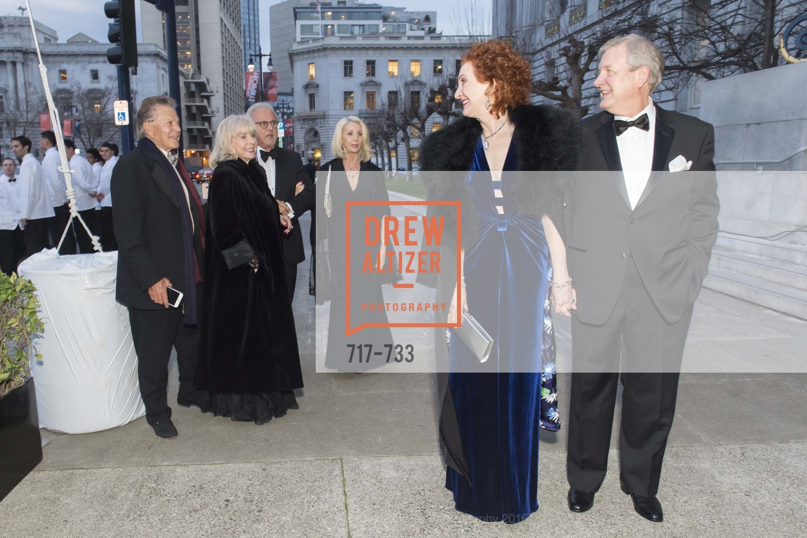 Patricia Roberts, Fred Roberts, San Francisco Ballet 2016 Opening Night Gala, San Francisco City Hall. 1 Dr Carlton B Goodlett Pl, January 21st, 2016,Drew Altizer, Drew Altizer Photography, full-service agency, private events, San Francisco photographer, photographer california