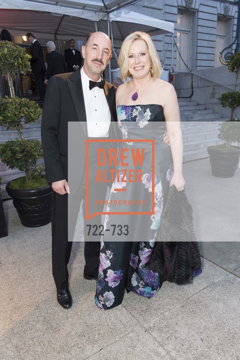 Pat Belotti, Paul Belotti, San Francisco Ballet 2016 Opening Night Gala, San Francisco City Hall. 1 Dr Carlton B Goodlett Pl, January 21st, 2016,Drew Altizer, Drew Altizer Photography, full-service agency, private events, San Francisco photographer, photographer california