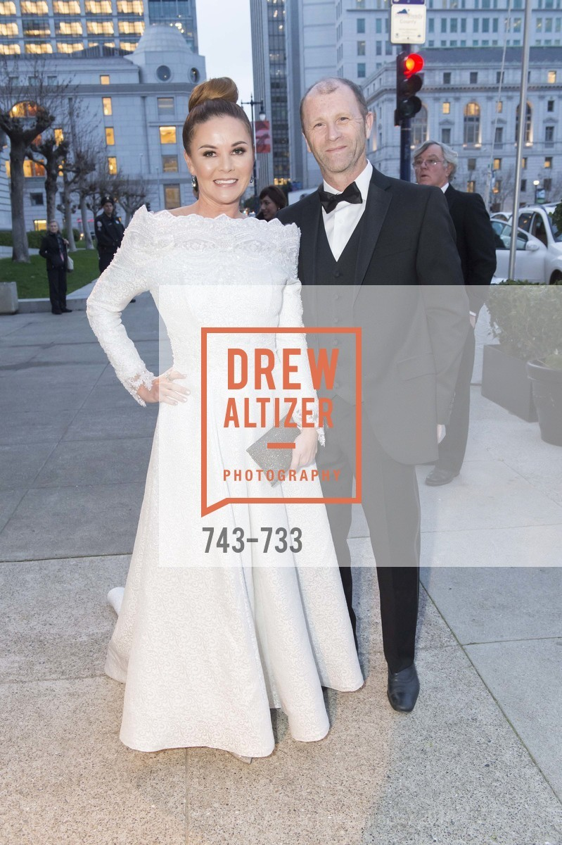 Judy Davies, Glyn Davies, San Francisco Ballet 2016 Opening Night Gala, San Francisco City Hall. 1 Dr Carlton B Goodlett Pl, January 21st, 2016,Drew Altizer, Drew Altizer Photography, full-service agency, private events, San Francisco photographer, photographer california