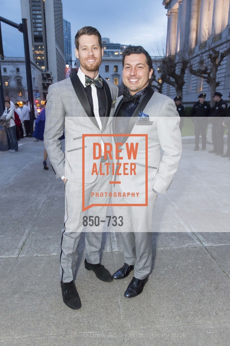 Nathan Johnson, Jake Wall, San Francisco Ballet 2016 Opening Night Gala, San Francisco City Hall. 1 Dr Carlton B Goodlett Pl, January 21st, 2016,Drew Altizer, Drew Altizer Photography, full-service event agency, private events, San Francisco photographer, photographer California