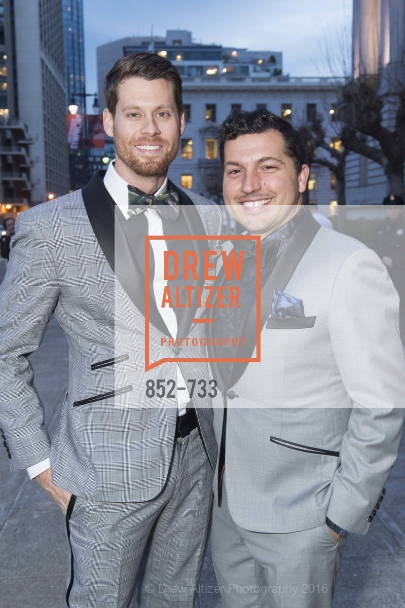 Nathan Johnson, Jake Wall, San Francisco Ballet 2016 Opening Night Gala, San Francisco City Hall. 1 Dr Carlton B Goodlett Pl, January 21st, 2016,Drew Altizer, Drew Altizer Photography, full-service agency, private events, San Francisco photographer, photographer california