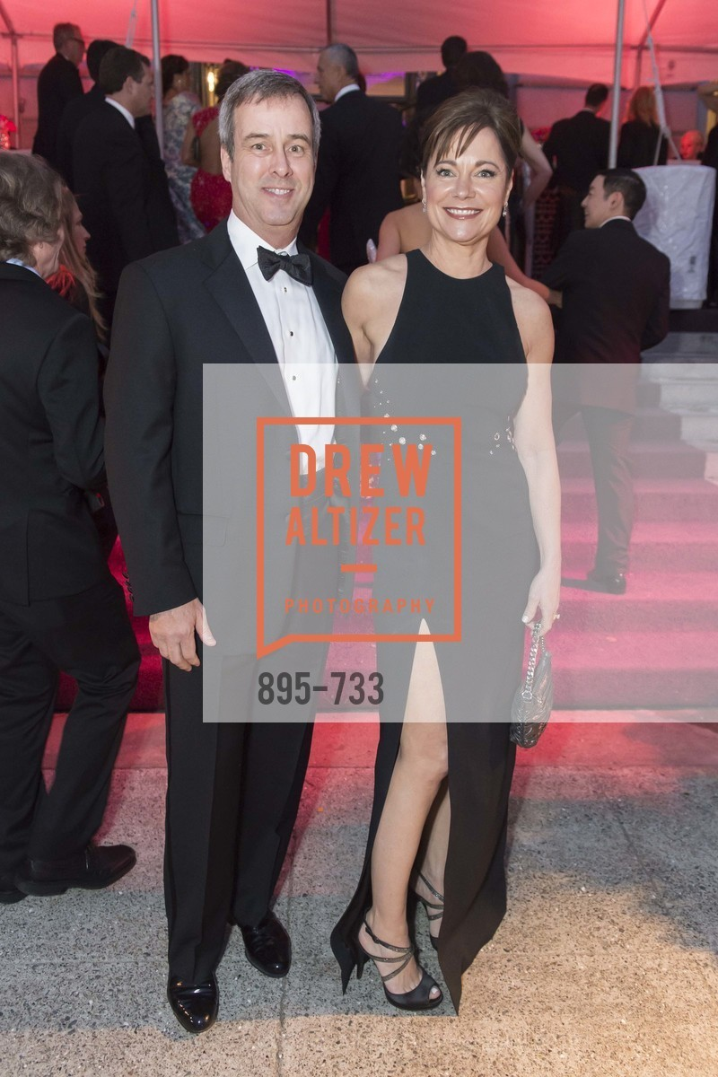 Robert Shaw, Deidre Shaw, San Francisco Ballet 2016 Opening Night Gala, San Francisco City Hall. 1 Dr Carlton B Goodlett Pl, January 21st, 2016,Drew Altizer, Drew Altizer Photography, full-service agency, private events, San Francisco photographer, photographer california