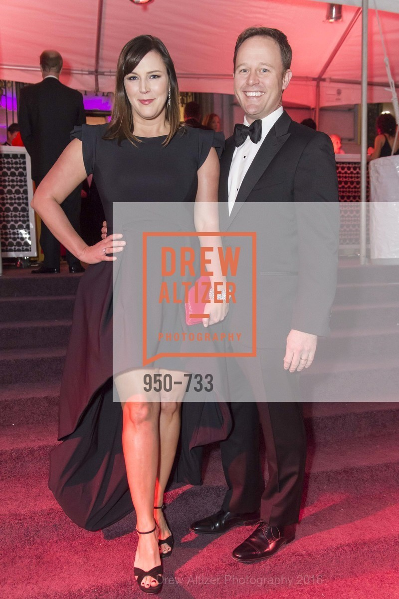 Audrey Cooper, Kirk Seward, San Francisco Ballet 2016 Opening Night Gala, San Francisco City Hall. 1 Dr Carlton B Goodlett Pl, January 21st, 2016,Drew Altizer, Drew Altizer Photography, full-service event agency, private events, San Francisco photographer, photographer California