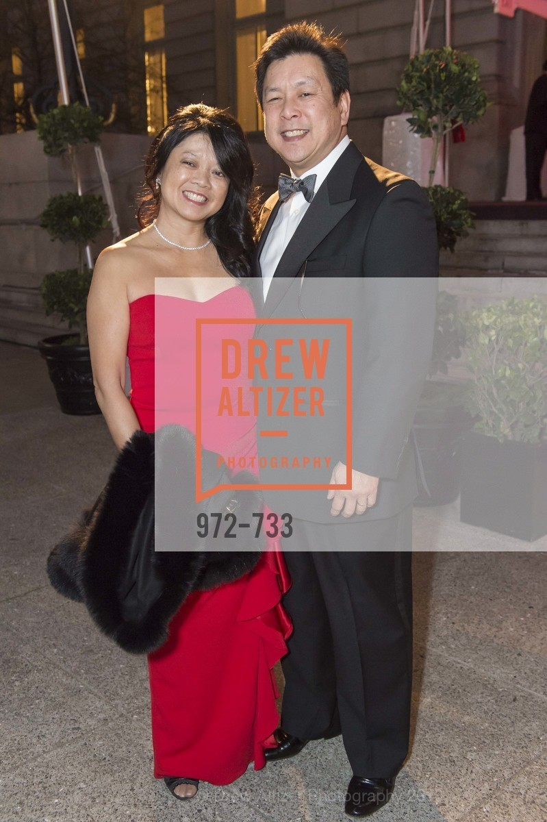 Yvonne Chang, Ron Chang, San Francisco Ballet 2016 Opening Night Gala, San Francisco City Hall. 1 Dr Carlton B Goodlett Pl, January 21st, 2016,Drew Altizer, Drew Altizer Photography, full-service agency, private events, San Francisco photographer, photographer california