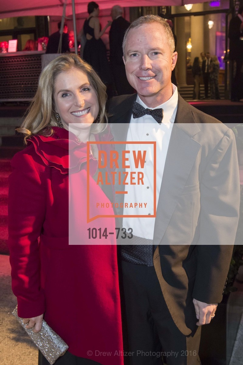 Lisa Edwards, Chuck Hornbrook, San Francisco Ballet 2016 Opening Night Gala, San Francisco City Hall. 1 Dr Carlton B Goodlett Pl, January 21st, 2016,Drew Altizer, Drew Altizer Photography, full-service agency, private events, San Francisco photographer, photographer california