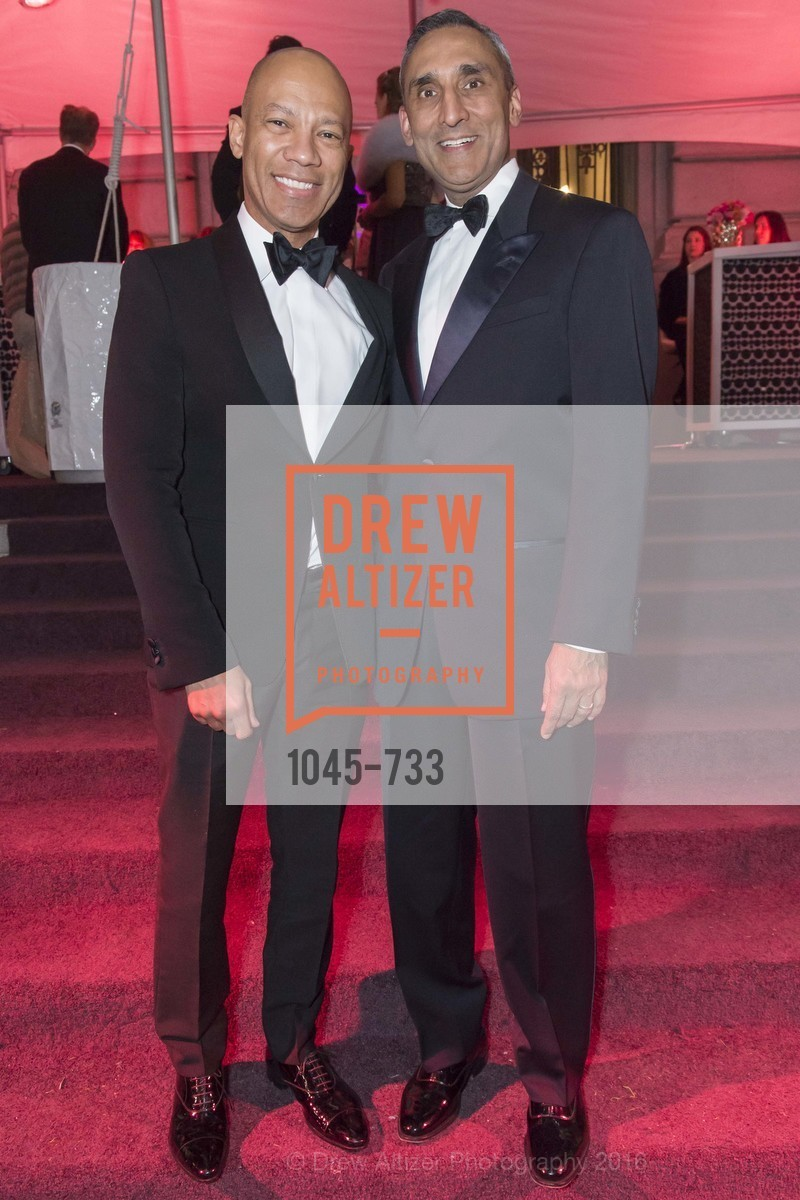 Ken McNeeley, Inder Dhillon, San Francisco Ballet 2016 Opening Night Gala, San Francisco City Hall. 1 Dr Carlton B Goodlett Pl, January 21st, 2016,Drew Altizer, Drew Altizer Photography, full-service agency, private events, San Francisco photographer, photographer california