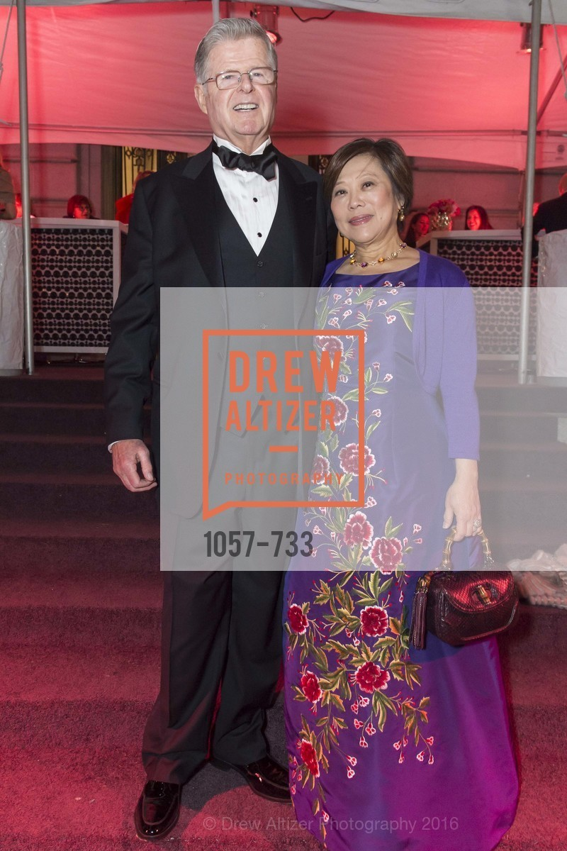 Richard Barker, Nancy Chang, San Francisco Ballet 2016 Opening Night Gala, San Francisco City Hall. 1 Dr Carlton B Goodlett Pl, January 21st, 2016,Drew Altizer, Drew Altizer Photography, full-service event agency, private events, San Francisco photographer, photographer California