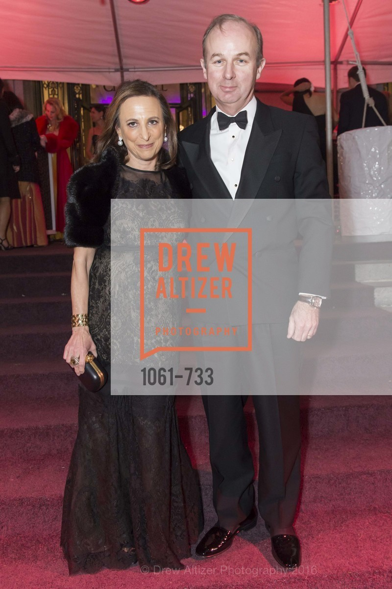 Elyse O'Sullivan, Michael O'Sullivan, San Francisco Ballet 2016 Opening Night Gala, San Francisco City Hall. 1 Dr Carlton B Goodlett Pl, January 21st, 2016,Drew Altizer, Drew Altizer Photography, full-service agency, private events, San Francisco photographer, photographer california