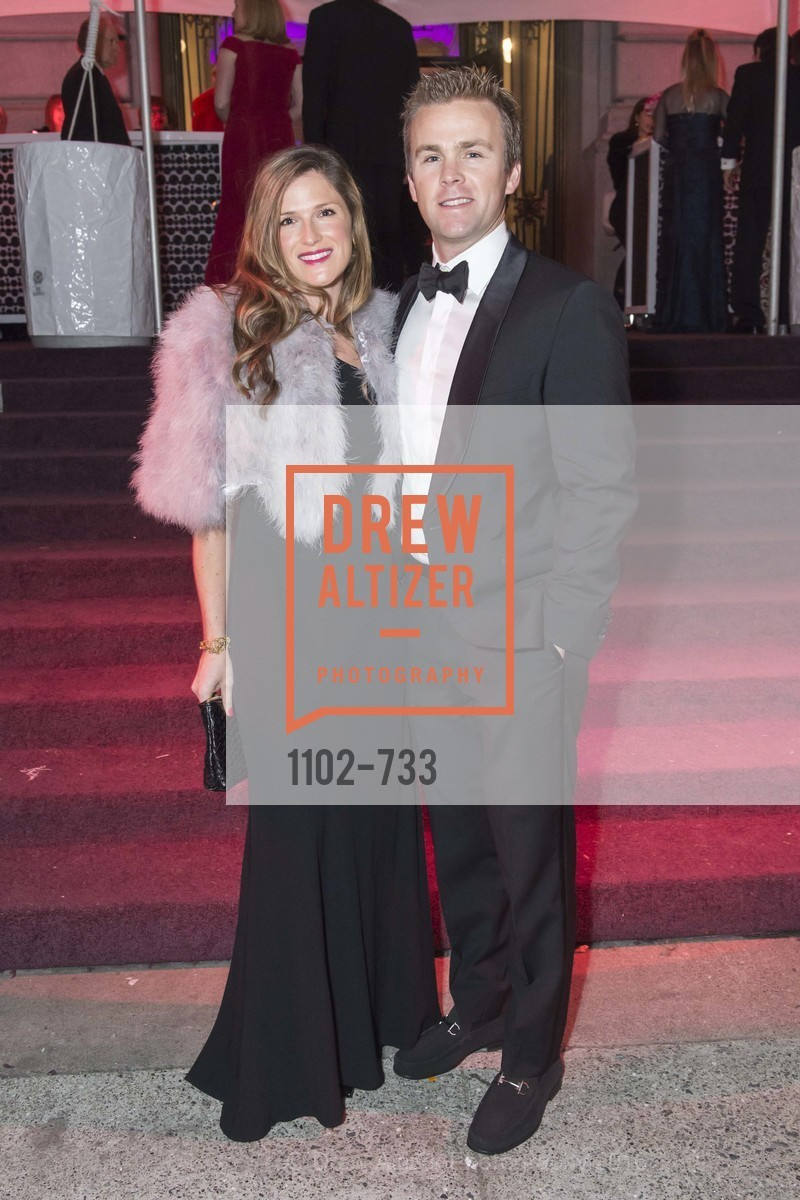 Rebecca Bridges, Ian Bridges, San Francisco Ballet 2016 Opening Night Gala, San Francisco City Hall. 1 Dr Carlton B Goodlett Pl, January 21st, 2016,Drew Altizer, Drew Altizer Photography, full-service agency, private events, San Francisco photographer, photographer california