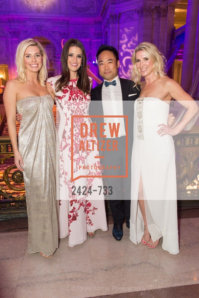 Meredith Kendall, Samantha Hartwell, Hiro Iwanaga, Kate Jorgensen, San Francisco Ballet 2016 Opening Night Gala, San Francisco City Hall. 1 Dr Carlton B Goodlett Pl, January 21st, 2016