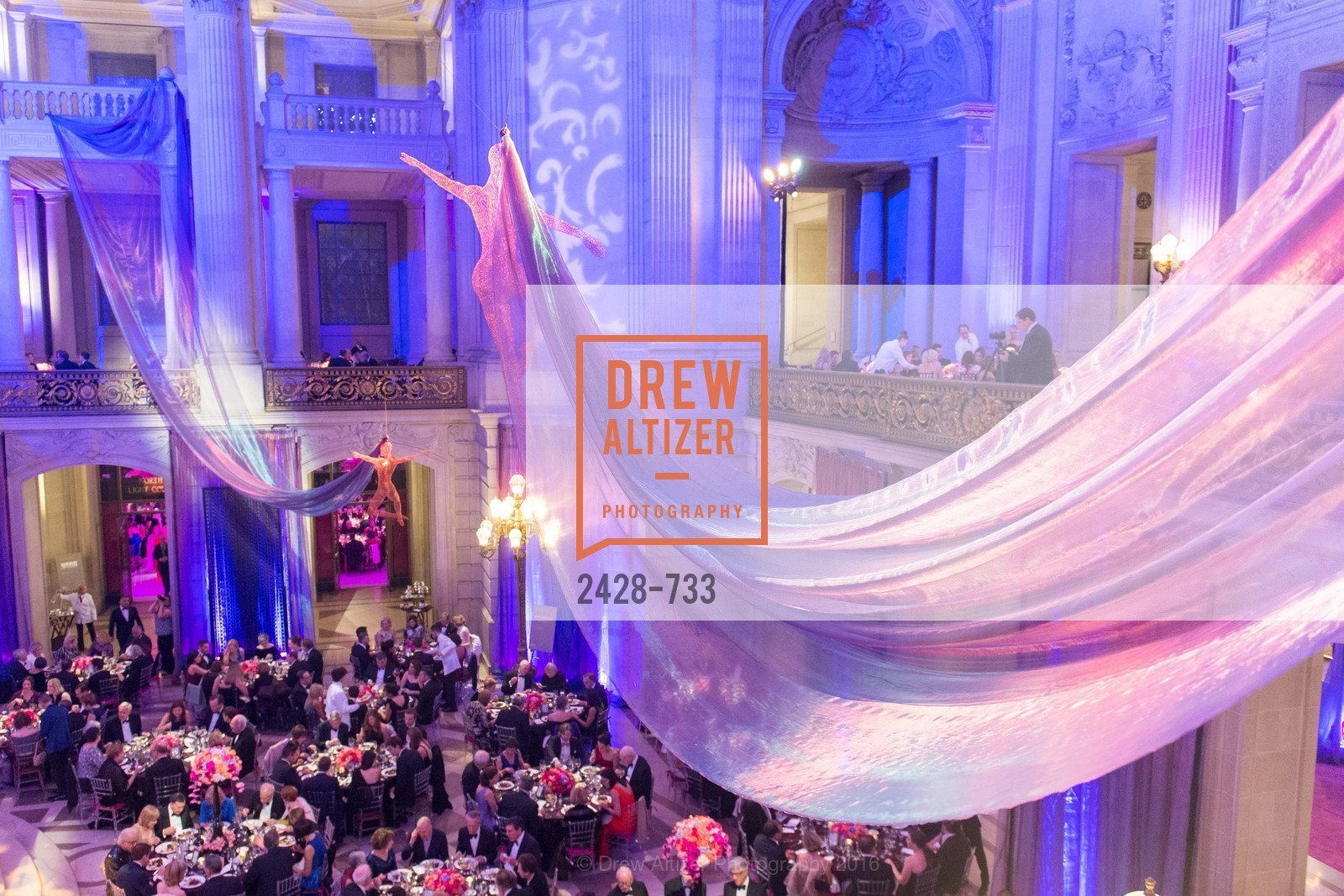 Performance, San Francisco Ballet 2016 Opening Night Gala, San Francisco City Hall. 1 Dr Carlton B Goodlett Pl, January 21st, 2016,Drew Altizer, Drew Altizer Photography, full-service agency, private events, San Francisco photographer, photographer california