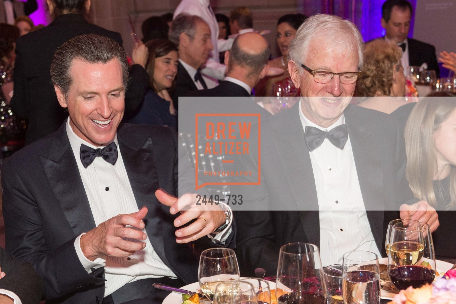 Gavin Newsom, James Hormel, San Francisco Ballet 2016 Opening Night Gala, San Francisco City Hall. 1 Dr Carlton B Goodlett Pl, January 21st, 2016,Drew Altizer, Drew Altizer Photography, full-service event agency, private events, San Francisco photographer, photographer California