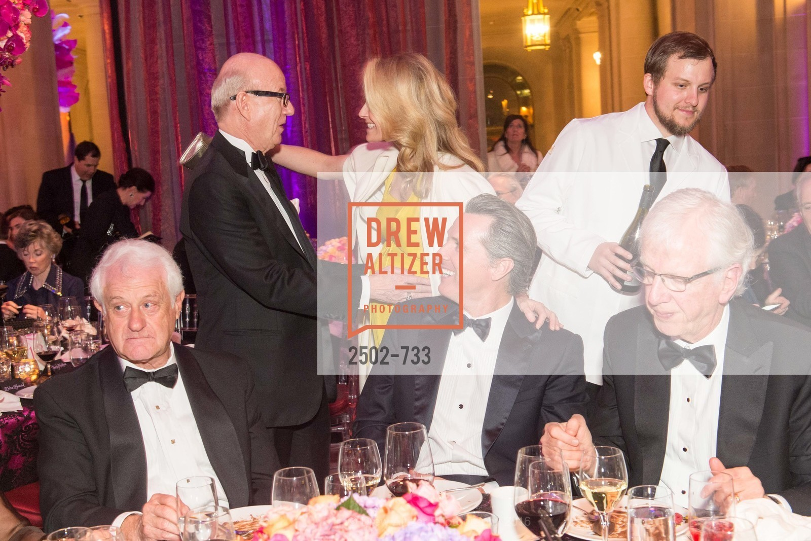 Tom Horn, Jennifer Siebel Newsom, Gavin Newsom, San Francisco Ballet 2016 Opening Night Gala, San Francisco City Hall. 1 Dr Carlton B Goodlett Pl, January 21st, 2016,Drew Altizer, Drew Altizer Photography, full-service agency, private events, San Francisco photographer, photographer california