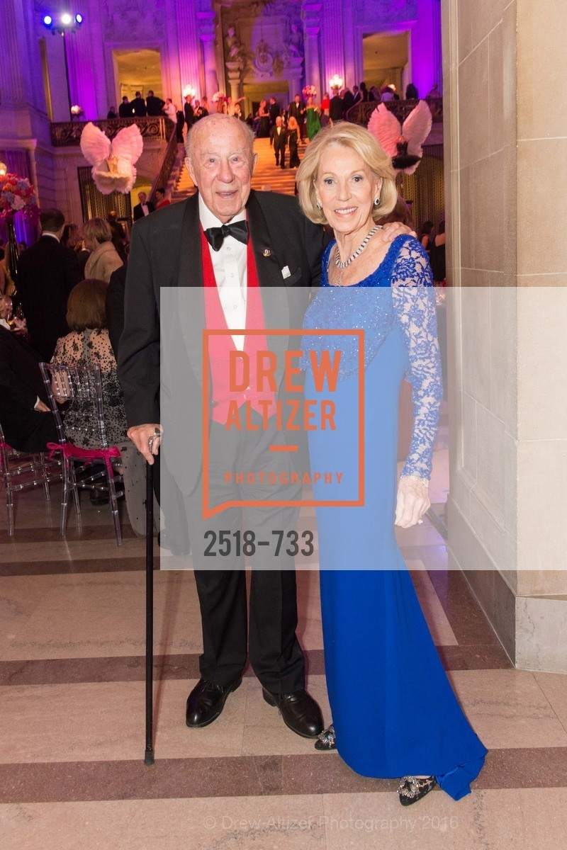 George Shultz, Charlotte Shultz, San Francisco Ballet 2016 Opening Night Gala, San Francisco City Hall. 1 Dr Carlton B Goodlett Pl, January 21st, 2016,Drew Altizer, Drew Altizer Photography, full-service event agency, private events, San Francisco photographer, photographer California