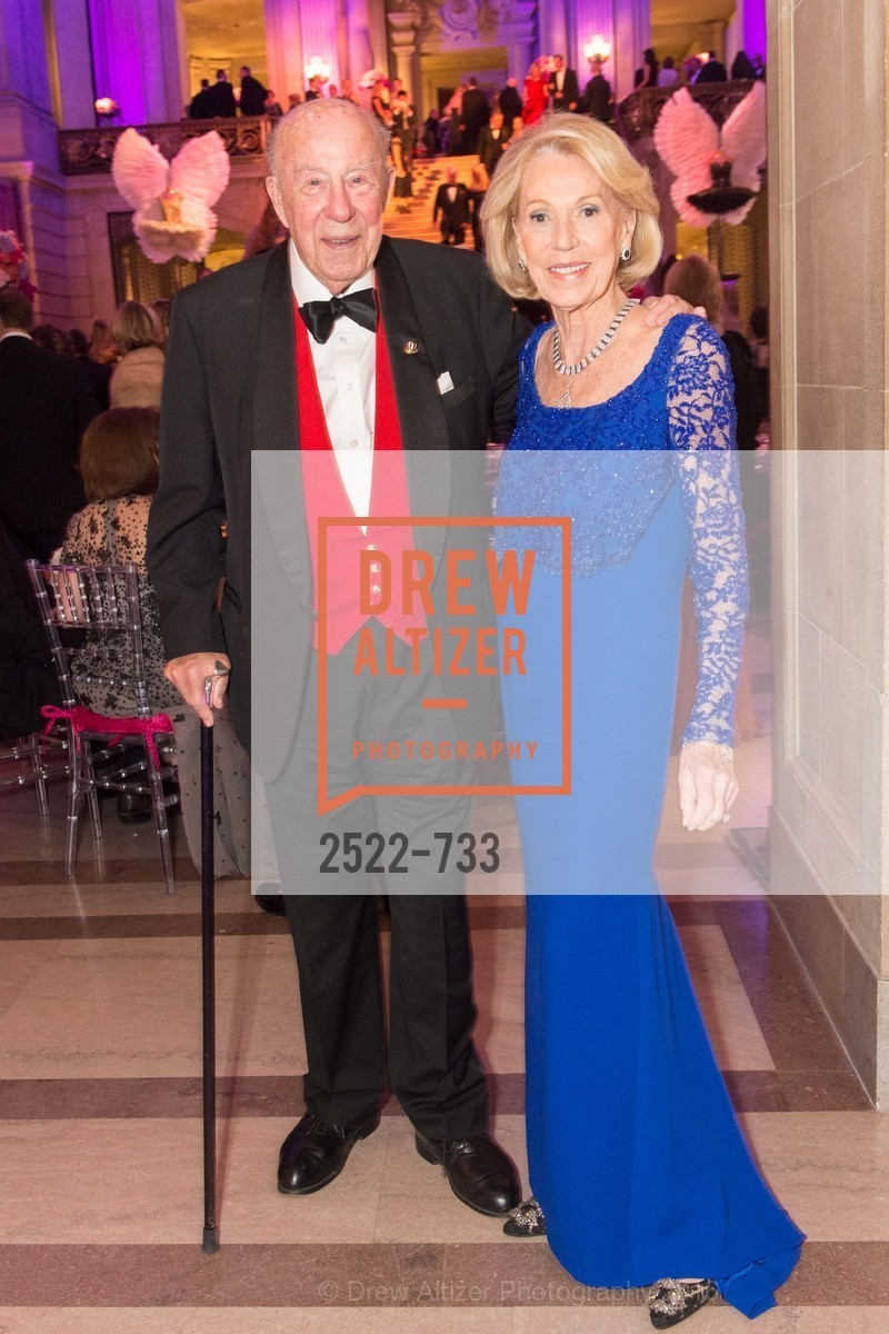 George Shultz, Charlotte Shultz, San Francisco Ballet 2016 Opening Night Gala, San Francisco City Hall. 1 Dr Carlton B Goodlett Pl, January 21st, 2016,Drew Altizer, Drew Altizer Photography, full-service agency, private events, San Francisco photographer, photographer california